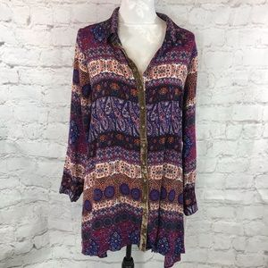 Anthropologie Dresses - Aratta Silent Journey tunic